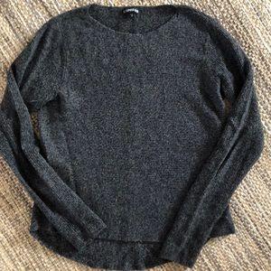 Express charcoal gray women's sweater